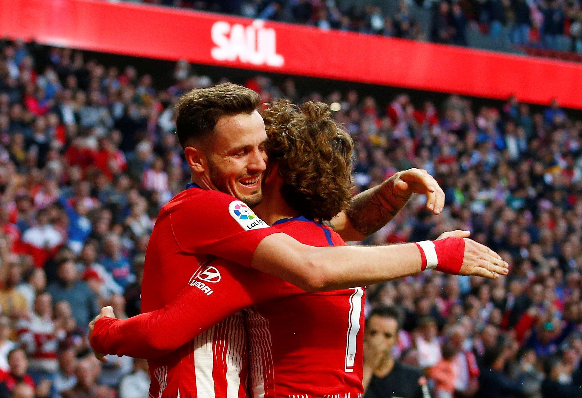 Ambos protagonistas compartieron terreno de juego en el Atlético de Madrid (Reuters)