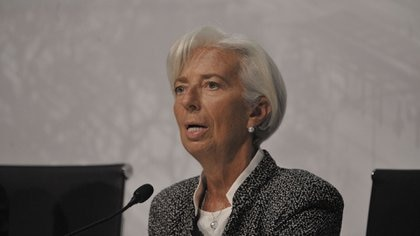 La directora gerente del FMI, Christine Lagarde (Patricio Murphy)