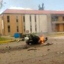Las autoridades establecen si la detonación provino de un carrobomba.