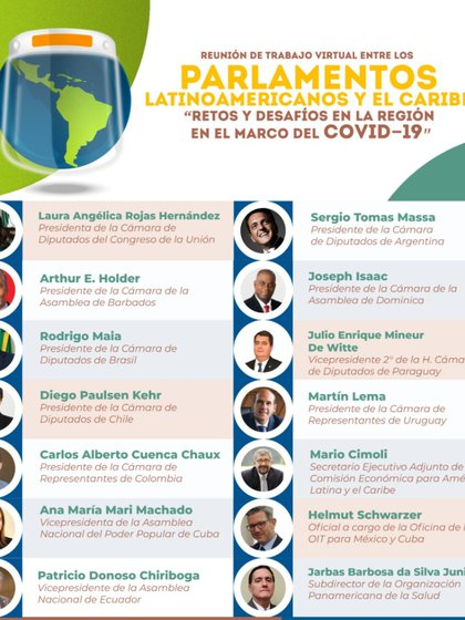 Los participantes del conversatorio también escucharon las propuestas de los expertos (Foto: Cámara de Diputados MX)