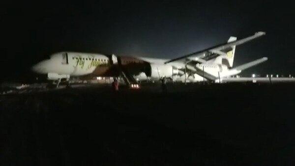 El aparato de la aerolínea Fly Jamaica Airways tenía como destino Toronto