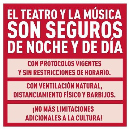"""Los empresarios teatrales y musicales están en """"Extrema Alerta"""""""