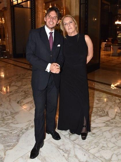Gerard Confalonieri y Silvana Sarrabayrouse