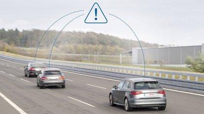 La comunicación entre los vehículos es vital para los autos que no necesitan conductor humano