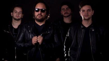 Vito Martino y Los Inolvidables (Foto: José Bertola)