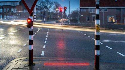 Las luces están coordinadas con los semáforos