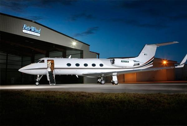 El avión que tendrá Maradona a su disposición
