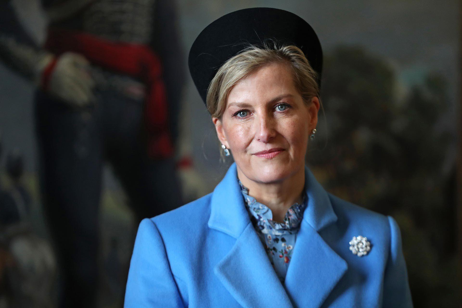 Los medios británicos destacan la popularidad de Sofía de Sussex y al estrecha relación con su suegra, la reina Isabel II (Shutterstock)