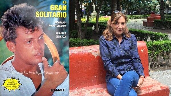 Claudia de Icaza ha vendido 96.000 copias de su libro (Portada del libro: RinconLuisMiguel.com.ar)