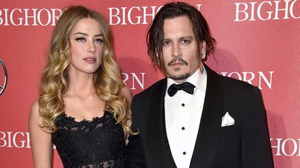 Amber Heard y Johnny Depp. (AP)