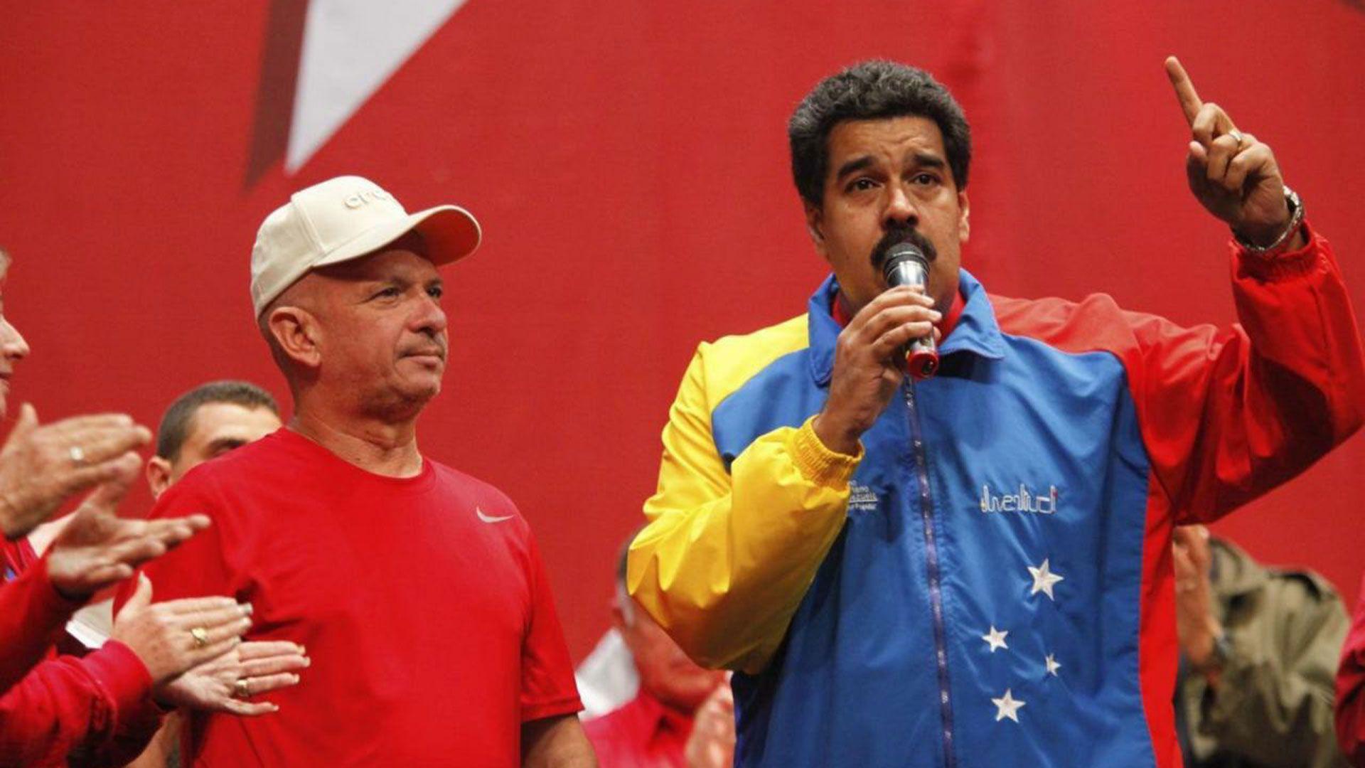 El ex jefe de inteligencia del régimen con el dictador Nicolás Maduro(Reuters)