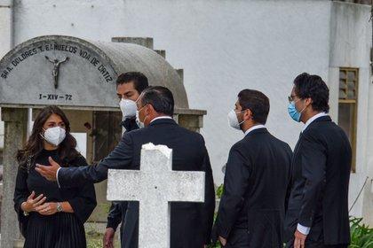 Hijos de Peña Nieto fueron vistos en los funerales Luis Miranda Cardoso (Foto: Cuartoscuro)
