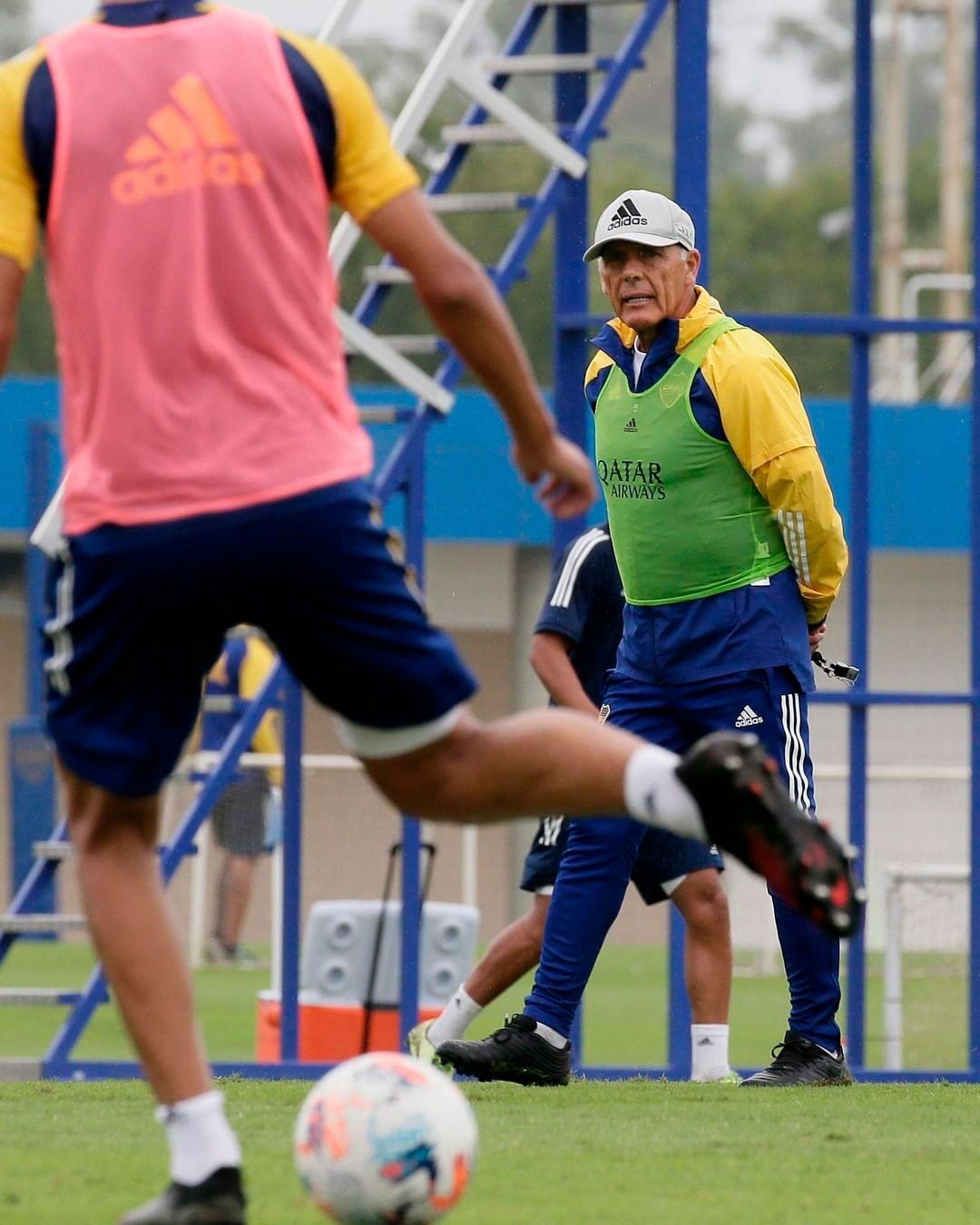 entrenamiento de Miguel Ángel Russo Boca