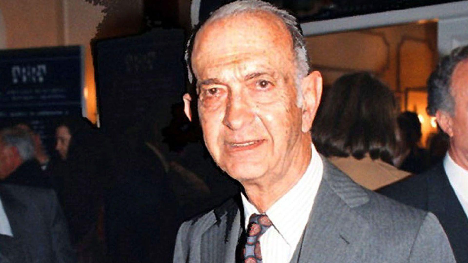 José Alfredo Martínez de Hoz, ministro de Economía durante la última dictadura. (NA)