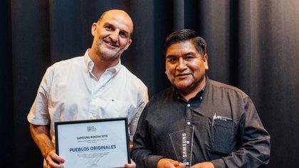 Diego Noriega y René Calpachany