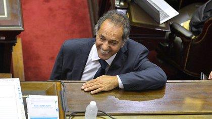 El actual embajador en Brasil, Daniel Scioli (Gustavo Gavotti)