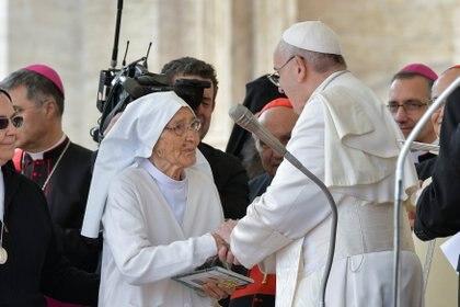 Maria Concetta Esu (Vatican Media/via REUTERS)