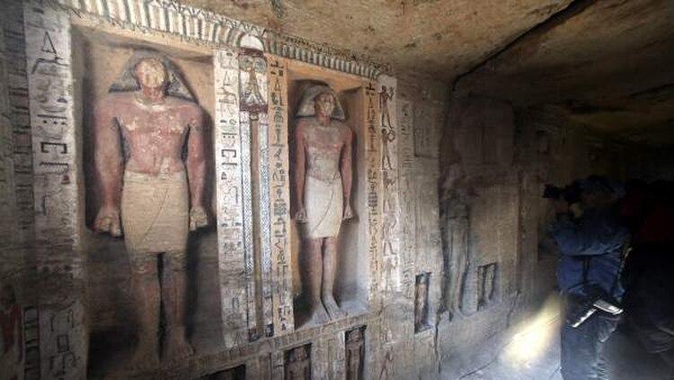 El sector turístico en Egipto se está recuperando y se espera que lo visiten 10 y 11 millones este año, tras alcanzar los 8 millones en 2017 (Foto: Efe/KHALED ELFIQI)