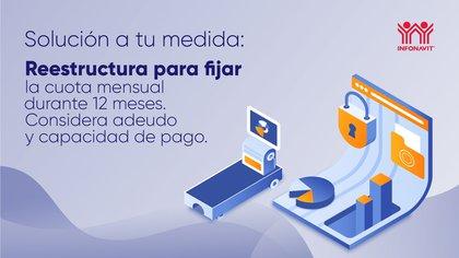 INFONAVIT ofrece soluciones a los pagos vencidos en caso de incapacidad  (Foto: Twitter@Infonavit)