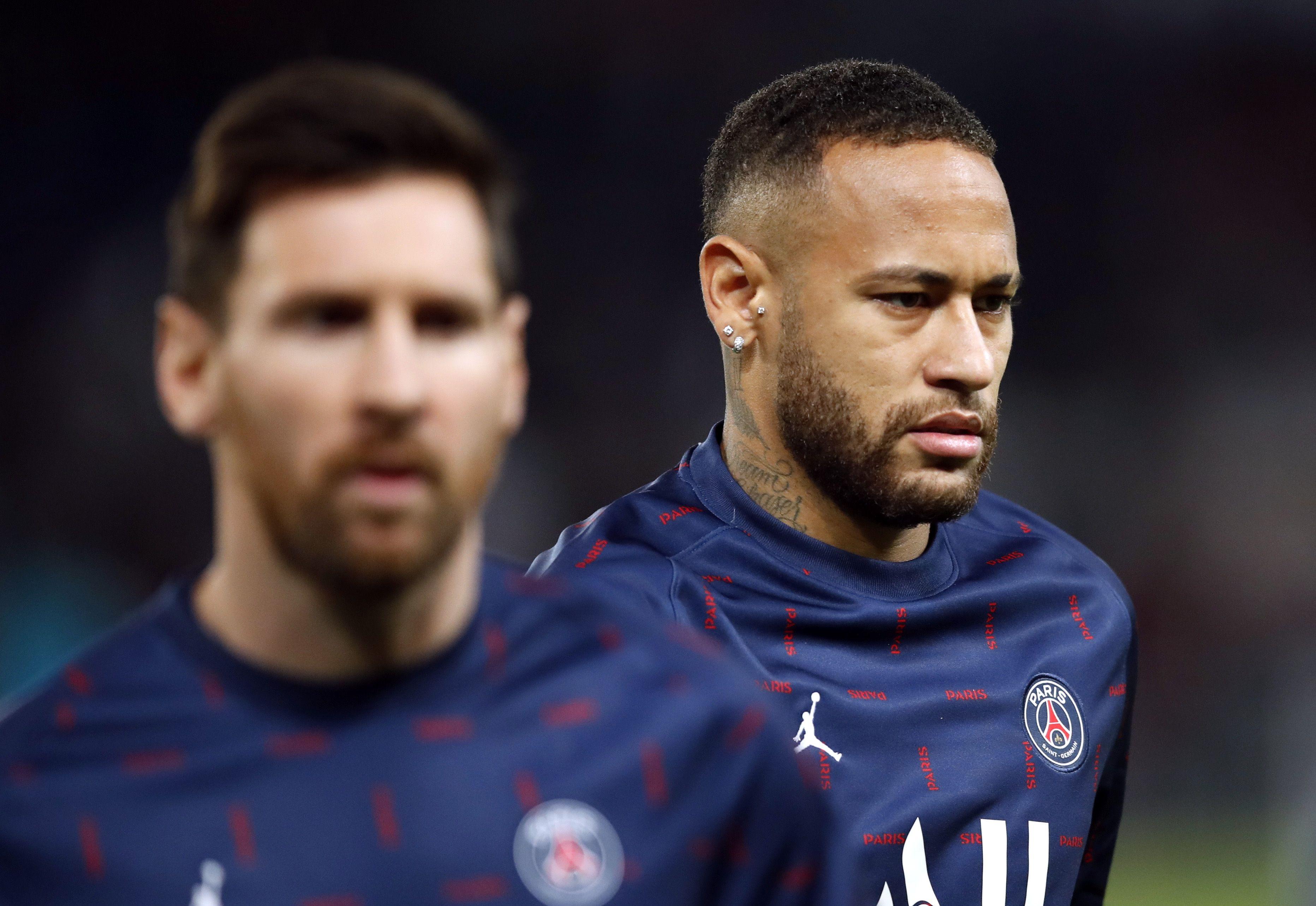 Neymar recibió varias críticas tras la derrota ante el Rennes (Reuters)
