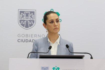 Claudia Sheinbaum, jefa de gobierno de la Ciudad de México adelantó qué debend e hacer los empresarios para regresar a actividades (Foto: Twitter@GobCDMX)