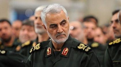 Qassen Soleimani era el  jefe de la Guardia Revolucionaria Islámica y comandante de la Fuerza Al Quds cuando se realizaron los envíos (Archivo DEF)