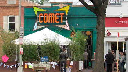 La pizzería Comet Ping Pong de Washington DC (Creative Commons)