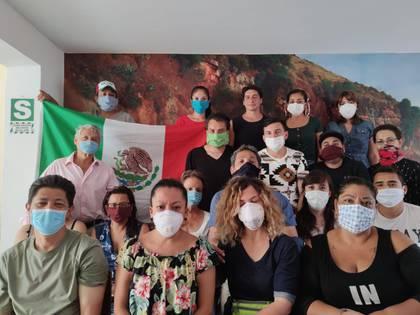 Más de 400 mexicanos se quedaron varados en Perú (Foto: Cortesía)