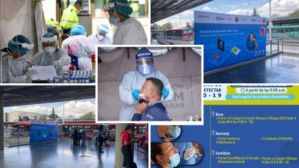 Conozca dónde puede realizarse pruebas gratuitas de covid-19 en Bogotá