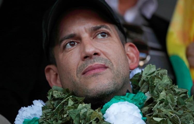 Luis Fernando Camacho (Foto AP/Juan Karita)