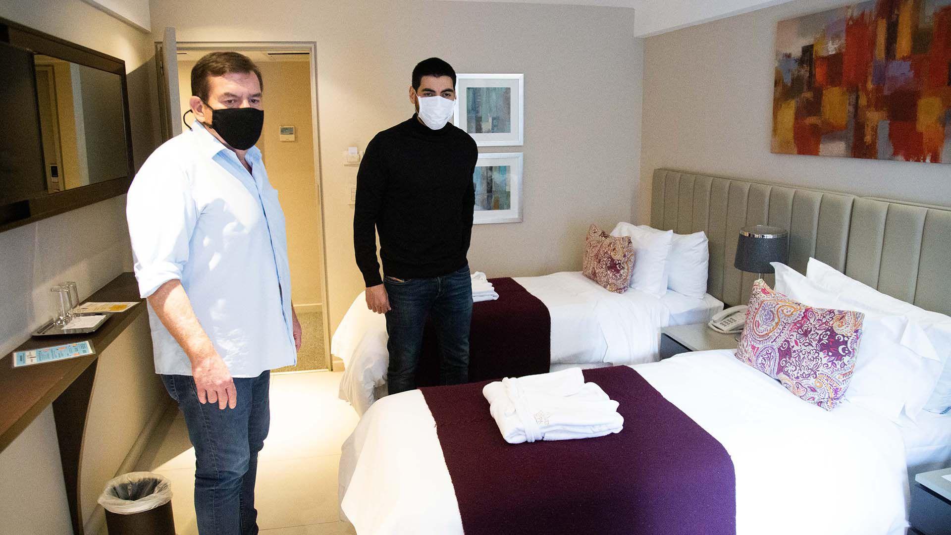 Facundo Moyano cedió el hotel del Sindicato de Peajes en Mar del Plata al intendente de la ciudad, Guillermo Montenegro