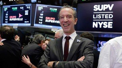 Julio Patricio Supervielle es el principal accionista del banco argentino.  (Forbes)