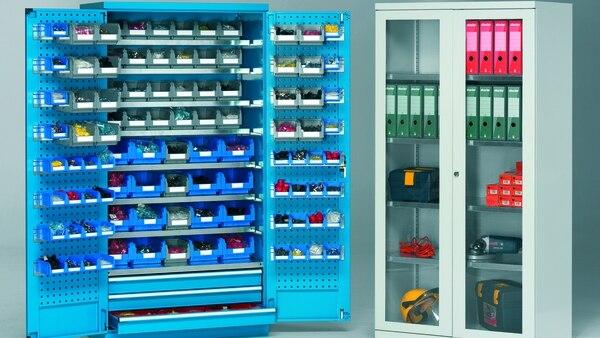 Orden, gran soporte de peso y adaptabilidad. Algunas de las características de los armarios de Storage Compat.