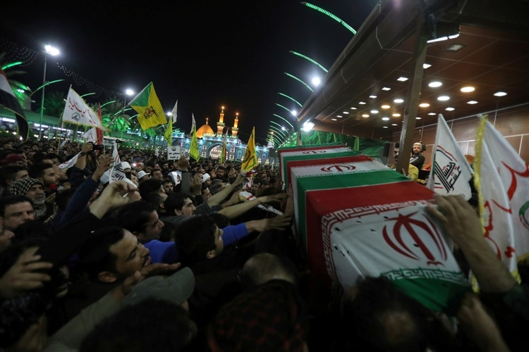 Funeral de Qassem Soleimani (REUTERS/Abdullah Dhiaa al-Deen TPX IMAGES OF THE DAY)