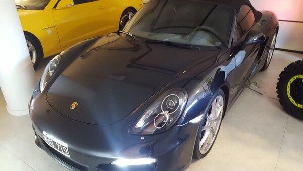 El Porsche 911 de Balcedo