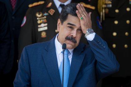 La dictadura de Nicolás Maduro busca evitar la extradición de Alex Saab (EFE/ Miguel Gutiérrez)