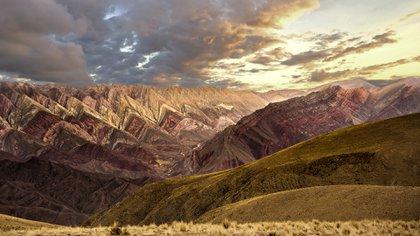 La quebrada de Humahuaca, en Jujuy, uno de los destinos más visitados de la Argentina
