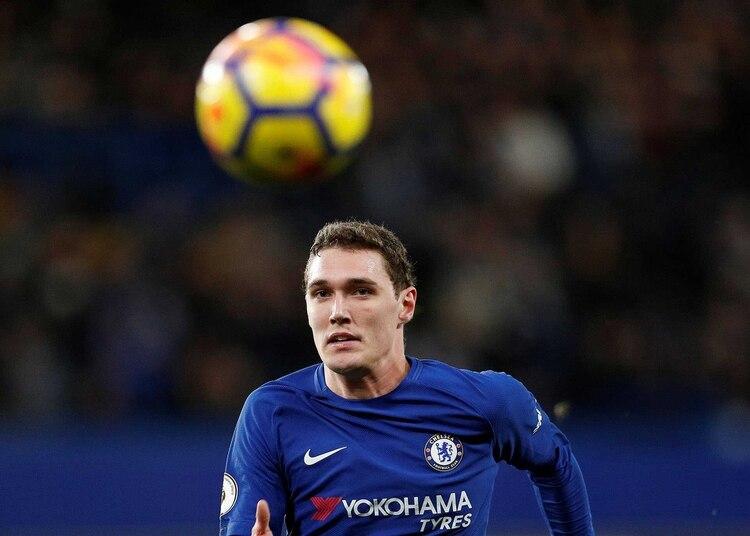 Andreas Christensen actualmente se desempeña en Chelsea (REUTERS)