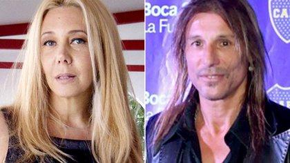 Enemigos públicos: Mariana Nannis y Claudio Caniggia