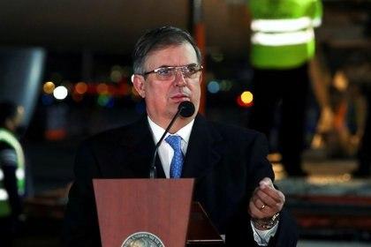 Marcelo Ebrard explicó su postura ante el COVID-19 desde la perspectiva regional (Foto: Reuters / Henry Romero)