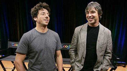 Larry Page y Sergey Brin, creadores de Google