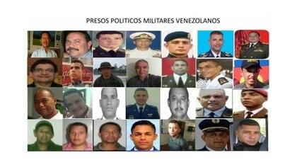 En Venezuela hay casi 200 militares presos por causas políticas