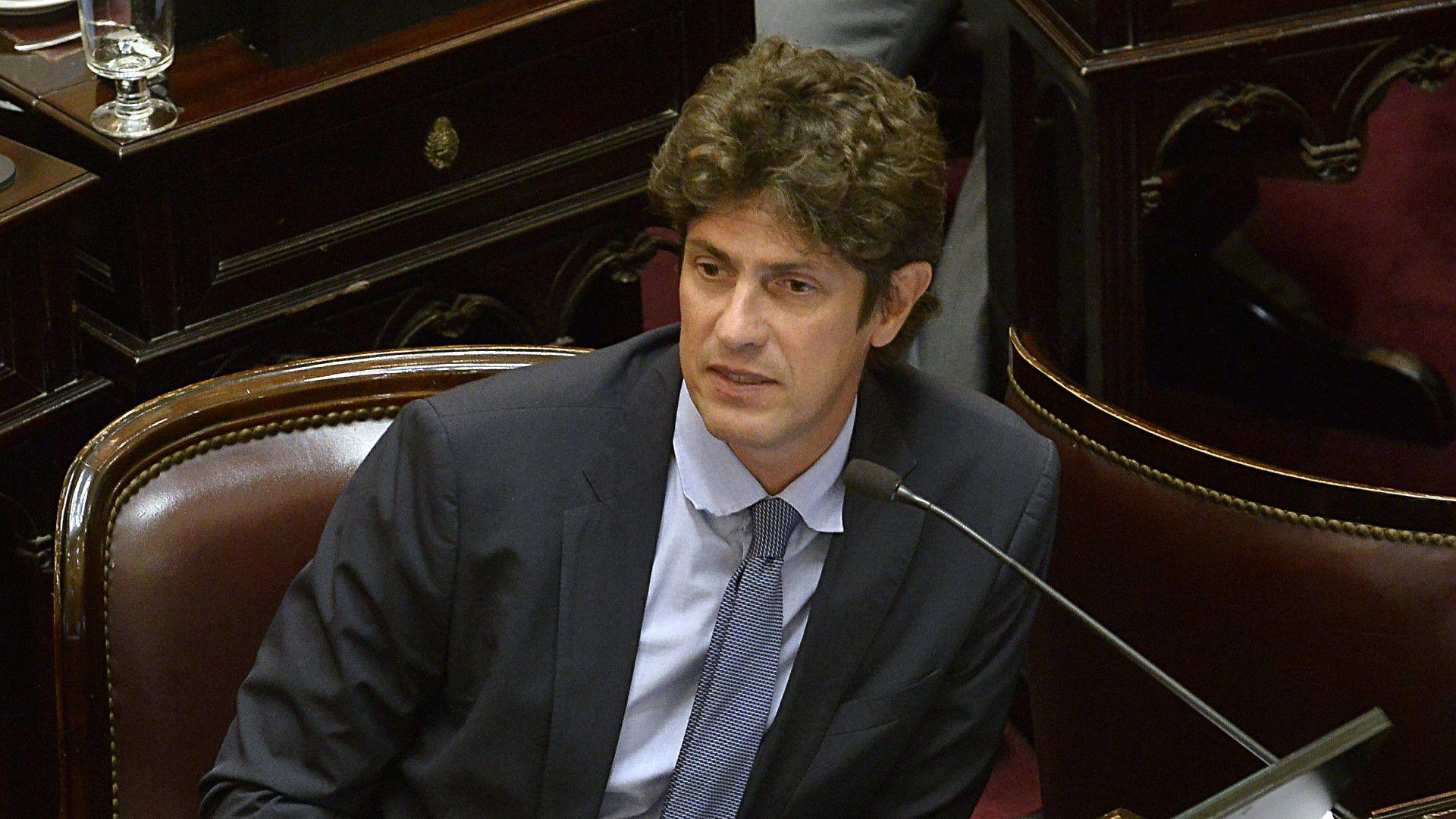 El senador del interbloque de Juntos por el Cambio, Martín Lousteau. (Gustavo Gavotti)
