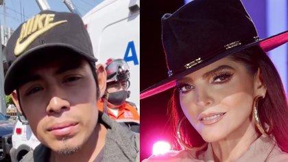 """Te amo, chula"": el mensaje de Miguel, joven que narró el colapso del Metro, a Ana Bárbara"