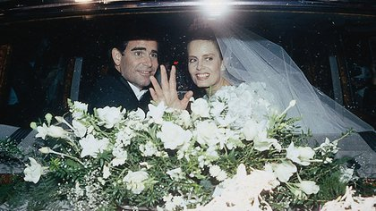 El primer matrimonio duró seis años