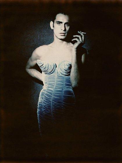 Vestido cónico de Gaultier