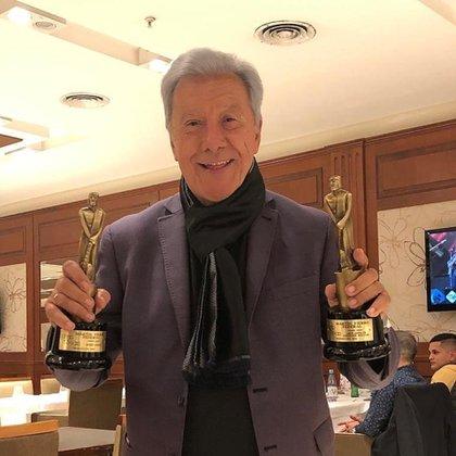 Juan Alberto Mateyko, el gran ganador de la noche Foto: @jamateyko