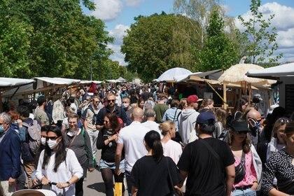 Feria comercial en Berlín, reabierta a mediados de julio (DPA/ Europa Press)
