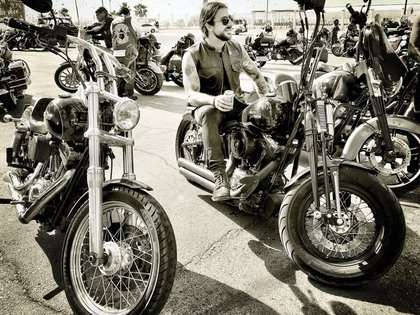Sonora, México. Una parada en la ruta luego de 1000 kilómetros en moto