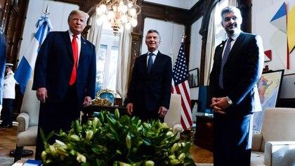 La reunión de Macri con Trump en la Casa Rosada